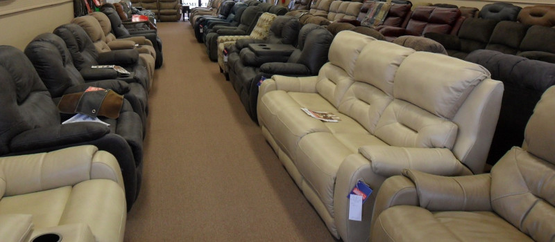 Reclining Sectionals in Mooresville, North Carolina