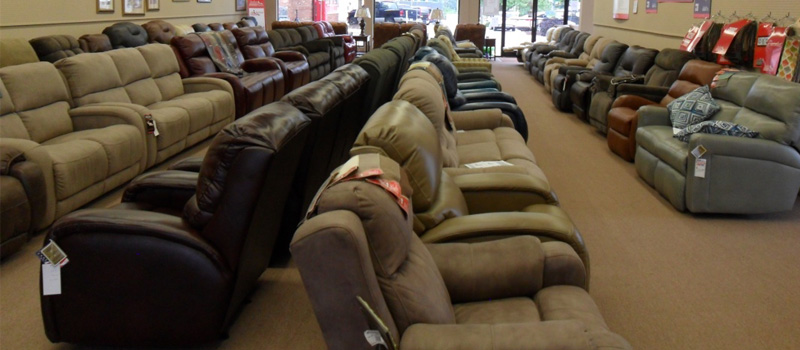 Reclining Sectionals in Concord, North Carolina